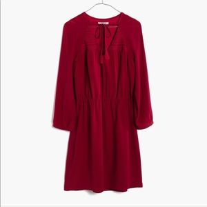 Madewell silk woodland dress size 4